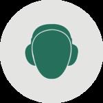 Icon Gehörschutz